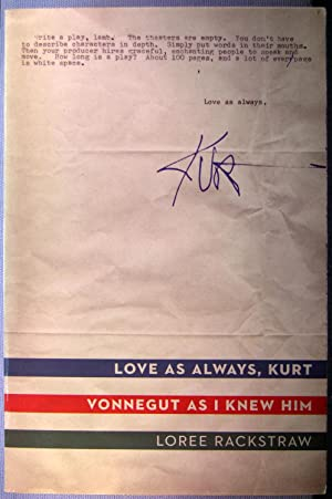 Love As Always, Kurt (Vonnegut As I Knew Him)