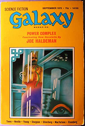 Galaxy Science Fiction ~ Vol. 33 #2 September-October 1972