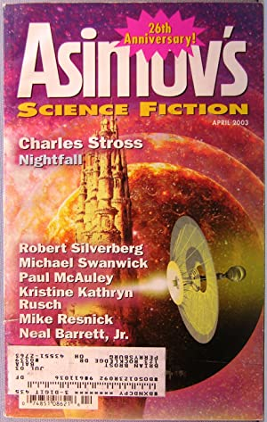 Asimov's Science Fiction ~ Vol. 27 #4 ~ April 2003