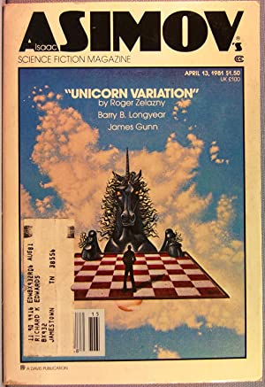 Isaac Asimov's Science Fiction Magazine ~ Vol. 5 #4 ~ April 13, 1981
