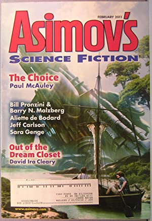 Asimov's Science Fiction ~ Vol. 35 #2 ~ February 2011