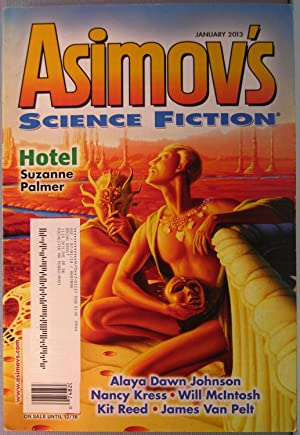 Asimov's Science Fiction ~ Vol. 37 #1 ~ January 2013