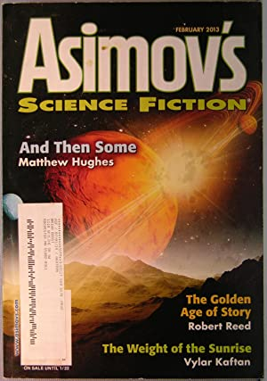 Asimov's Science Fiction ~ Vol. 37 #2 ~ February 2013