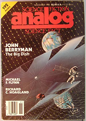 Analog Science Fiction / Science Fact ~ Vol. 106 #11 ~ November 1986