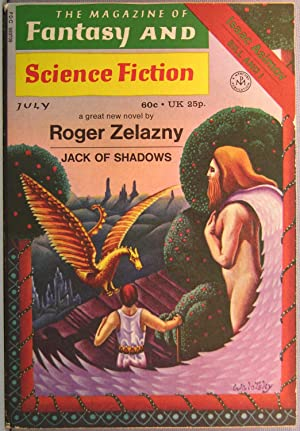 The Magazine of Fantasy and Science Fiction ~ Vol. 41 #1 July 1971