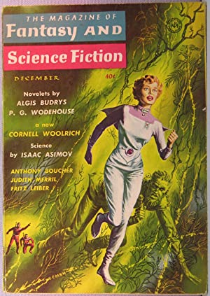 The Magazine of Fantasy and Science Fiction ~ Vol. 15 #6 December 1958