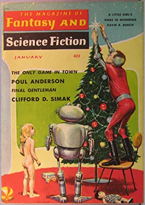The Magazine of Fantasy and Science Fiction ~ Vol. 18 #1 January 1960