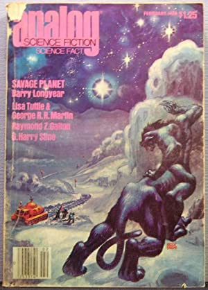 Analog Science Fiction / Science Fact ~ Vol. 100 #2 ~ February 1980