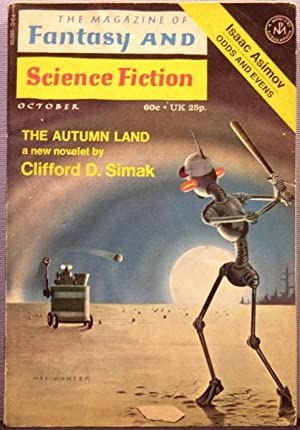 The Magazine of Fantasy and Science Fiction ~ Vol. 41 #4 October 1971
