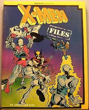 Comics File Magazine Spotlight On: X-Men Files: Van Hise, James