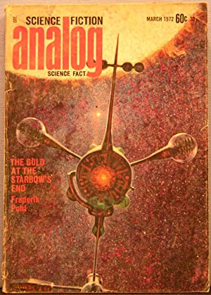 Analog Science Fiction / Science Fact ~ Vol. 89 #1 ~ March 1972