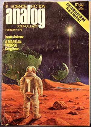 Analog Science Fiction / Science Fact ~ Vol. 96 #2 ~ February 1976