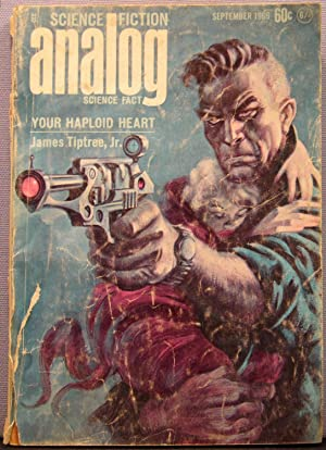 Analog Science Fiction / Science Fact ~ Vol. 84 #1 ~ September 1969