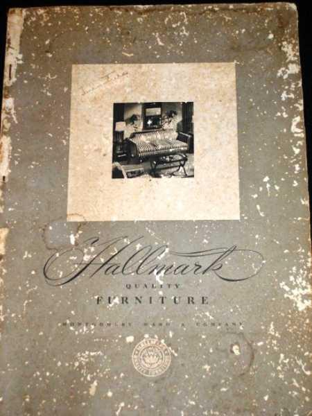 Hallmark Quality Furniture By Unknown Montgomery Ward Softcover Lotzabooks