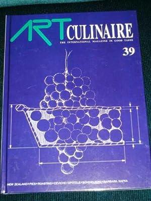 Art Culinaire 39 - The International Magazine in Good Taste - Winter, 1995: N/A