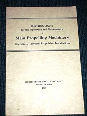Main Propelling Machinery - Section II -: N/A