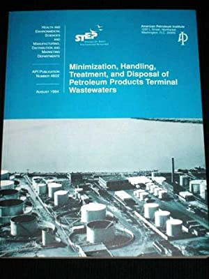 Minimization, Handling, Treatment, and Disposal of Petroleum Products Terminal Wastewaters