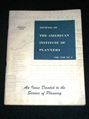 Journal of the American Institute of Planners - Vol XXII No. 2 - Spring, 1956: Norton, Perry L.