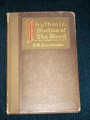 Rhythmic Studies of the Word: Cavaness, J. M.