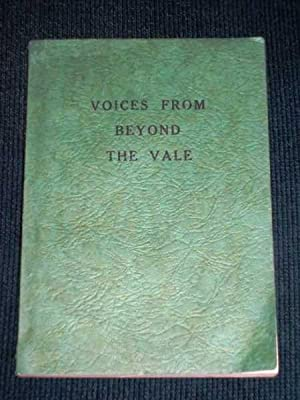 Voices from Beyond the Vale: Supler, Albert J.