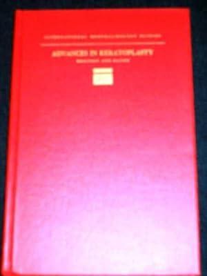 Advances in Keratoplasty: Bronson II, Nathaniel R.; Paton, R. Townley