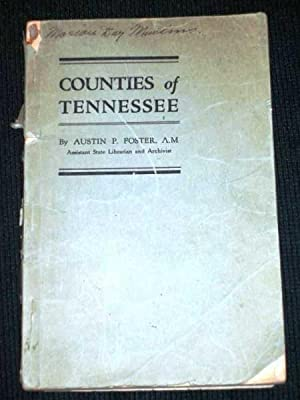 Counties of Tennessee: Foster, Austin P.