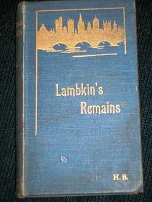 Lambkin's Remains: Belloc, Hillaire