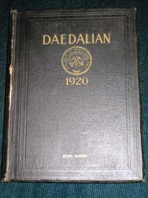 Daedalian 1920 Yearbook - Vol XI - College of Industrial Arts, Denton, TX: N/A