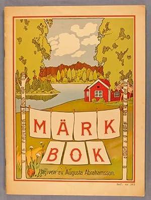 Märk Bok: Abrahamsson, Utgiven av