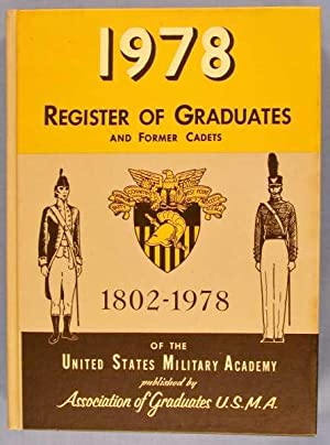 1978 Register of Graduates and Former Cadets: Staff