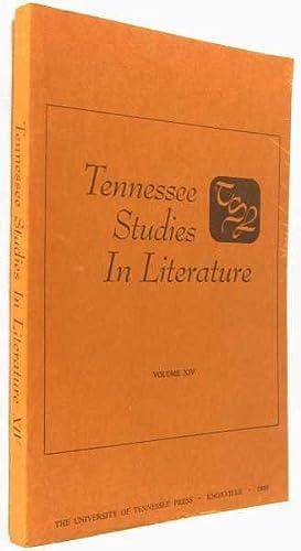 Tennessee Studies in Literature, Volume XIV: Davis, Richard Beale; Kenneth L. Knickerbocker (...