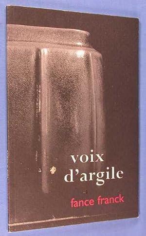 Voix d'Argile: France Franck: Hillside West Staff