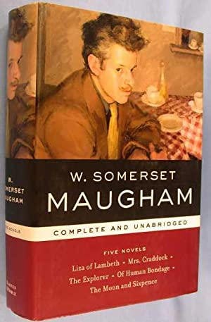 W. Somerset Maugham Five Novels Complete and Unabridged: Maugham, W. Somerset