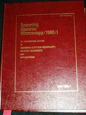 Scanning Electron Microscopy 1980/I: An International Journal: Various
