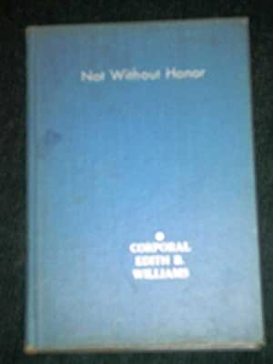 Not Without Honor: Williams, Corporal Edith B.