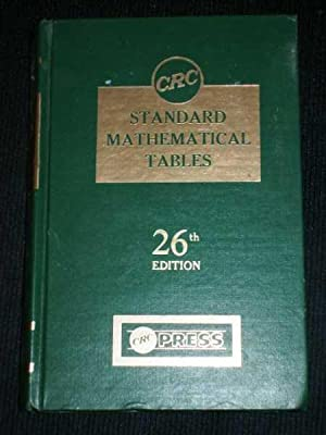 CRC Standard Mathematical Tables (26th Edition): Beyer, William H.