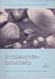 Schleswig-Holstein. Heft 2/1965. Monatshefte für Heimat und: Schleswig-Holsteinischer Heimatbund (Hg.)Dr.