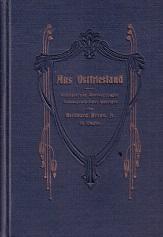 Aus Ostfriesland. Gedichte und Übersetzungen fremdsprachlicher Gedichte von Bernhard Brons jr. in ...