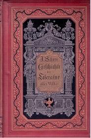 Geschichte der Literatur aller Völker. Ein Handbuch in zwei Bänden.: Scherr, Dr. Johannes: