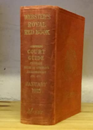 Webster's royal red book: or, Court and fashionable register for January, 1915.