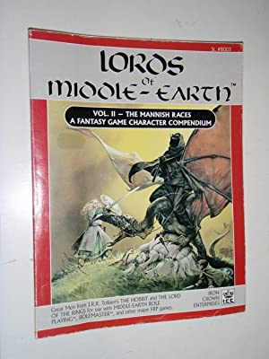 Lords of Middle-Earth Vol 2: The Mannish: Fenion, P.