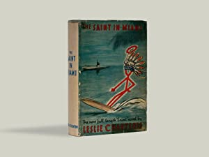 The Saint in Miami - SIGNED BY: Leslie Charteris