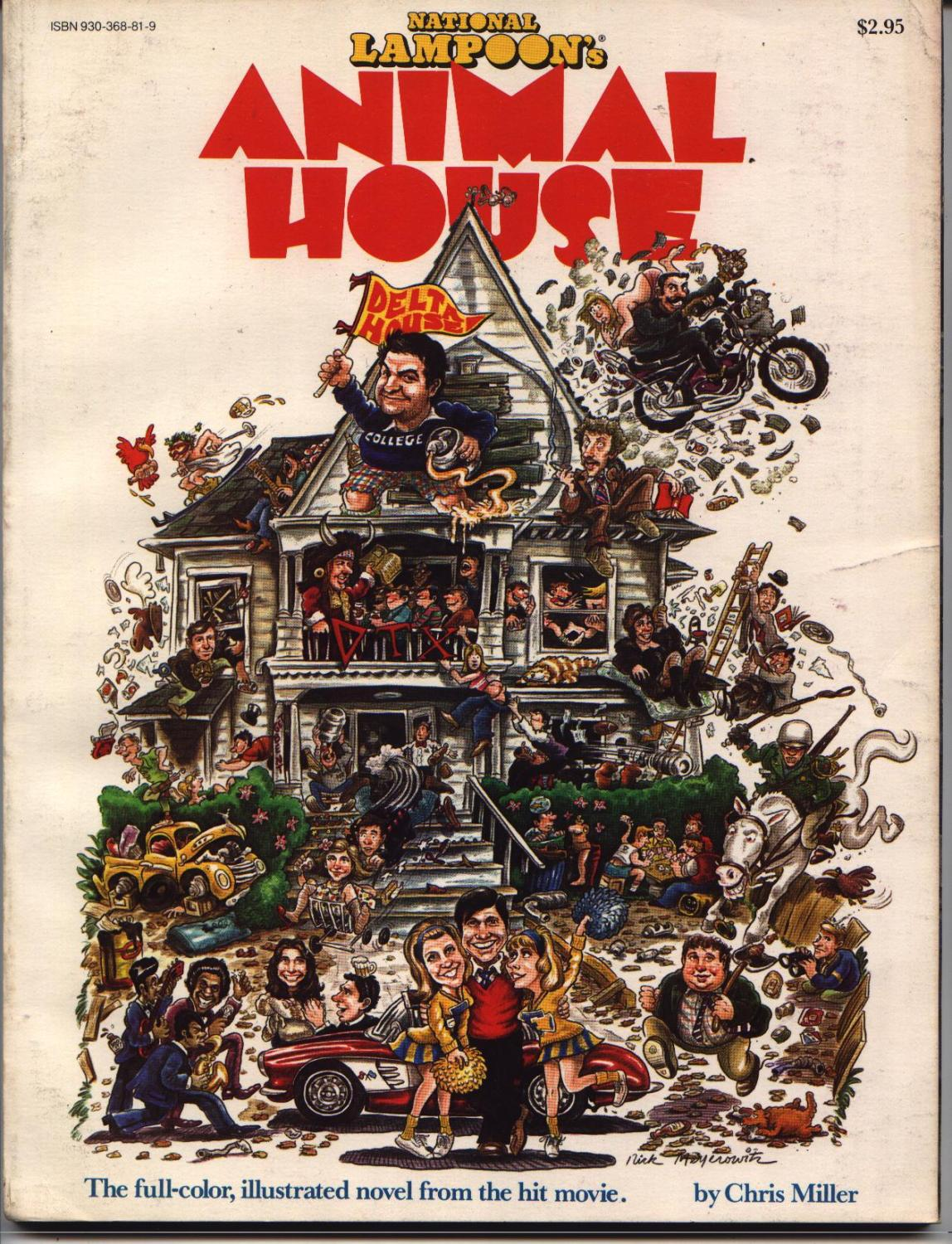 an analysis of animal house by national lampoon From universal studios home entertainment: national lampoon's animal house & the blues brothers laugh out loud this summer when two legendary classic comedies debut on blu-ray™ for.
