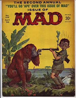 Mad Magazine - Number # 102 -: Gaines, William M.