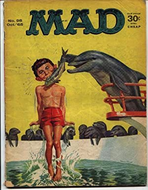 Mad Magazine - Number # 98 -: Gaines, William M.