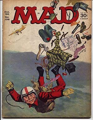 Mad Magazine - Number # 106 -: Gaines, William M.