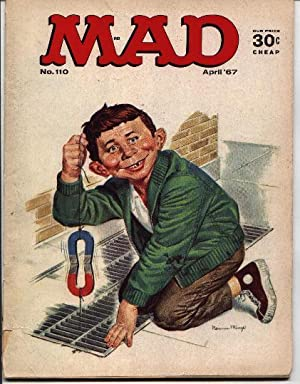 Mad Magazine - Number # 110 -: Gaines, William M.