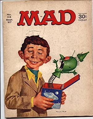 Mad Magazine - Number # 113 -: Gaines, William M.