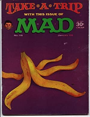 Mad Magazine - Number # 116 -: Gaines, William M.