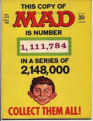 Mad Magazine - Number # 123 -: Gaines, William M.